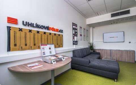 Vývojové centrum, kanceláře a showroom LARX