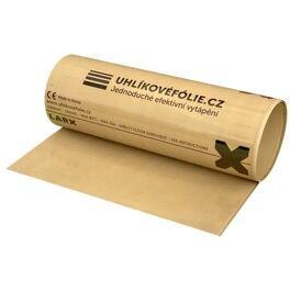 LARX uhlíková fólie, 150 W/m<sup>2</sup>, šířka 0,5 m, cena za 1 m délky