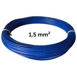 Vodič modrý 1,5 mm², návin 25 m