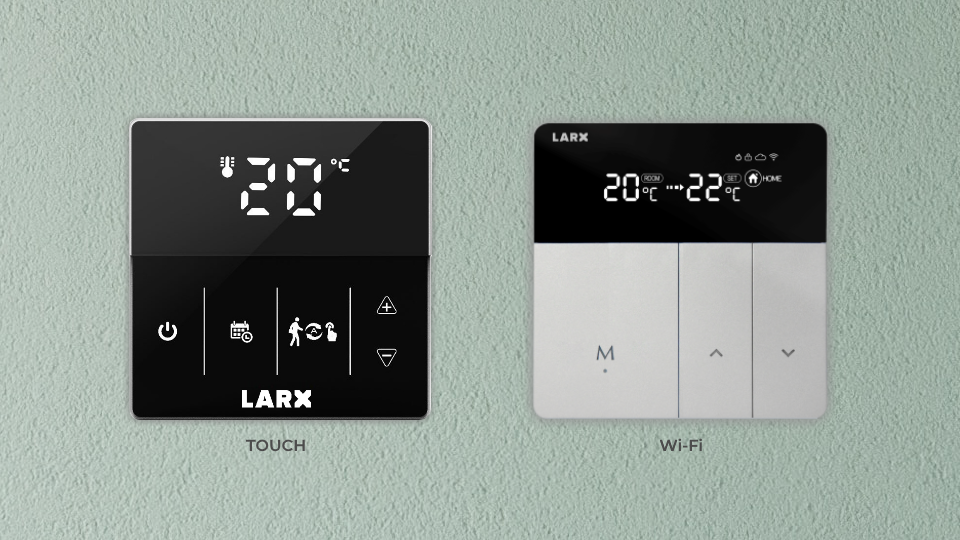 LCD termostat