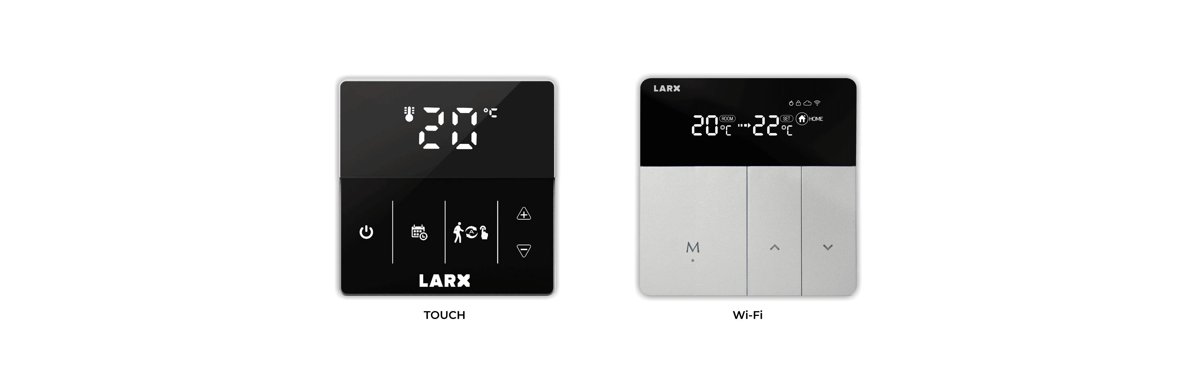 LARX termostat pro efektivní regulaci